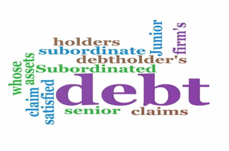 A Closer Look At Subordinated Debt